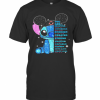 Mickey Mouse Stitch You Are Beautiful Victorious Enough Created Strong Amazing Capable Chosen Never Alone T-Shirt Classic Men's T-shirt