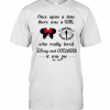 Once Upon A Time There Was A Girl Who Really Loved Disney And Outlander It Was Me The End Heart T-Shirt Classic Men's T-shirt