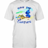 Stitch Save The Turtles T-Shirt Classic Men's T-shirt