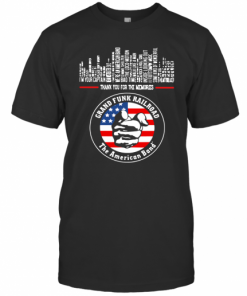 Thank You For The Memories Grand Funk Railroad The American Band T-Shirt Classic Men's T-shirt