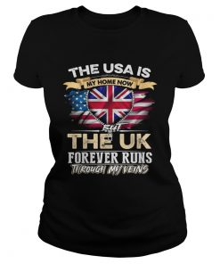The USA Is My Home Now But UK Forever Runs Through My Evins  Classic Ladies