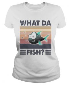 What da fish vintager retro  Classic Ladies