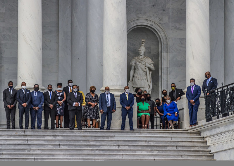Civil Rights Icon John Lewis Honored At The U.S. Capitol