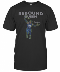 Awesome Sylvia Fowles Rebound Queen 2020 T-Shirt Classic Men's T-shirt