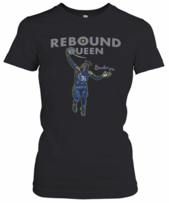 Awesome Sylvia Fowles Rebound Queen 2020 T-Shirt Classic Women's T-shirt