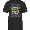 Baby Yoda I Don'T Care What Day It Is It'S Early I'M Grumpy I Want Dutch Bros T-Shirt Classic Men's T-shirt