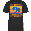 Bass I Won'T Cause Any Treble Vintage Retro T-Shirt Classic Men's T-shirt
