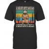Never Mess With A Bear Or A Beard Especially Not A Bear With A Beard Vintage Retro T-Shirt Classic Men's T-shirt