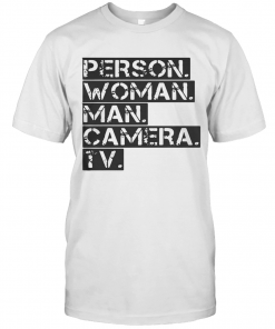 Person Woman Man Camera Tv T-Shirt Classic Men's T-shirt