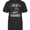 Shark Sometimes I Look Back On My Life And I'M Seriously Impressed I'M Still Alive T-Shirt Classic Men's T-shirt