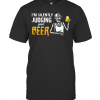 Skeleton I'M Silently Judging Your Beer T-Shirt Classic Men's T-shirt