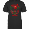 Skull Metallica Portugal Flag T-Shirt Classic Men's T-shirt