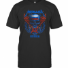 Skull Metallica Russia Flag T-Shirt Classic Men's T-shirt