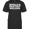 World'S Okayest Welder Classic T-Shirt Classic Men's T-shirt