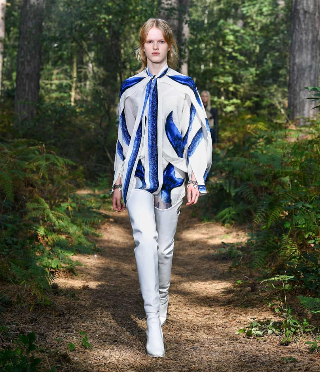 London fashion week Burberry takes online show to the British countryside