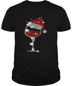 Christmas Red Wine Glass  Unisex