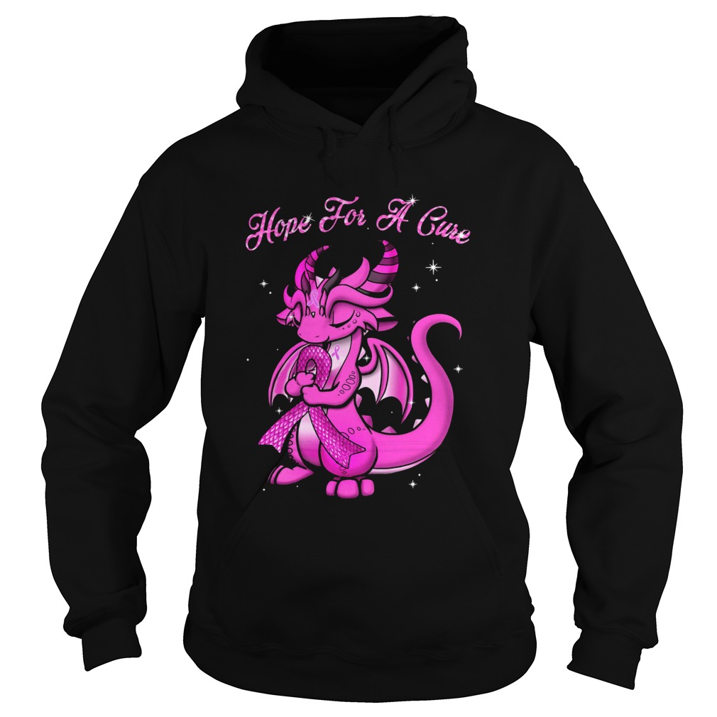 Dragon Hope For A Cure Hoodie