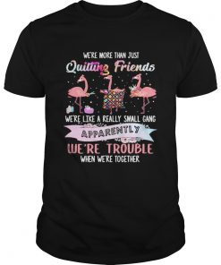 Flamingo were more than just quilting friends were like a really small gang apparently were trou Unisex