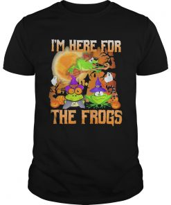Im Here For The Frogs Halloween  Unisex