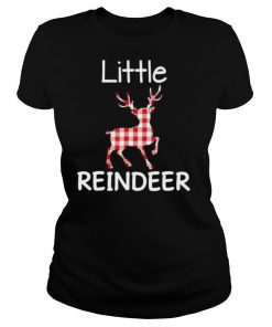 Little Reindeer Plaid Matching Family Ugly Sweater Christmas shirt