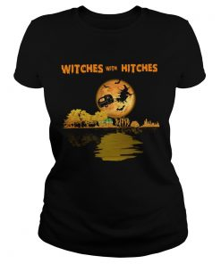Pretty Camping Witches With Hitches Halloween  Classic Ladies