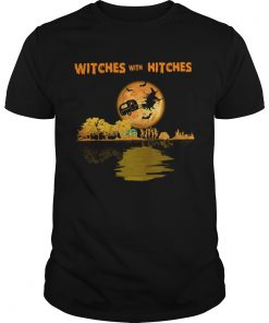 Pretty Camping Witches With Hitches Halloween  Unisex