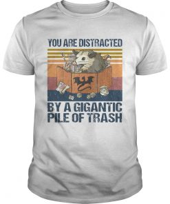 You Are Distracted By A Gigantic Pile Of Trash Vintage  Unisex