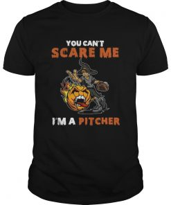 You Cant Scare Me Im A Pitcher  Unisex