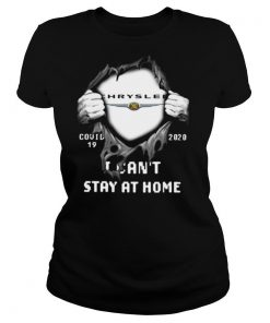 Blood Inside Me Chrysler Covid 19 2020 I Cant Stay At Home Halloween shirt