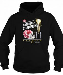 2021 College Football Playoff National Championship Victory  Unisex Hoodie
