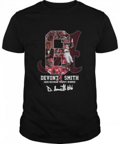 6 Devonta Smith 2020 Heisman Trophy WInner Signature  Classic Men's T-shirt