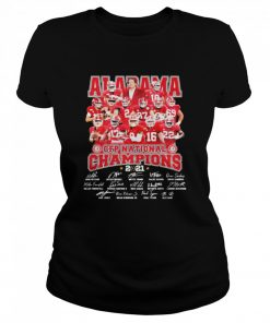 Alabama Cfp National Champions 2021 Signature Player Team Football  Classic Women's T-shirt