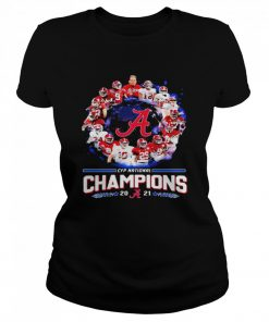 Alabama Crimson Tide Football Playoff National Champions 2021  Classic Women's T-shirt