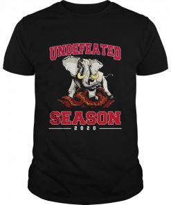 Alabama Crimson Tide Undefeated Season 2020  Classic Men's T-shirt