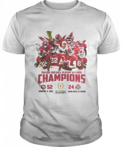 Alabama crimson college football playoff national champions 2021  Classic Men's T-shirt