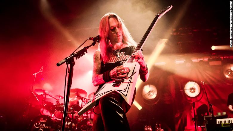 Alexi Laiho front man for Finnish metal band Children of Bodom dies suddenly at 41