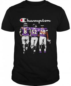Baltimore ravens jackson lewis reed champion signatures  Classic Men's T-shirt