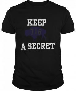 Buffalo Bills 716 Keep A Secret 2021  Classic Men's T-shirt