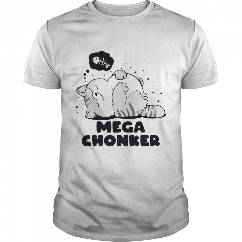 Cat Mega Chonker Classic Men's T-shirt