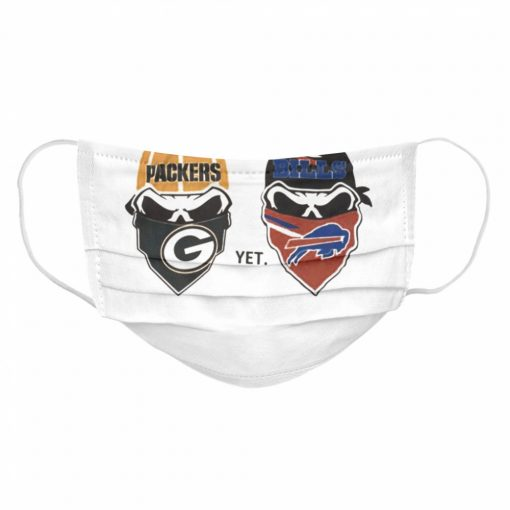 Dont have to pick a side Green Bay Packers yet Buffalo Bills  Cloth Face Mask