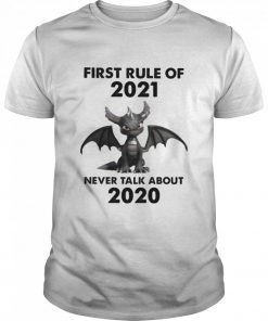 First Rule Of 2021 Never Talk About Toothless Dragon  Classic Men's T-shirt