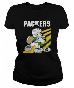 Green bay packers mickey mouse 2021  Classic Women's T-shirt