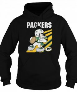 Green bay packers mickey mouse 2021  Unisex Hoodie