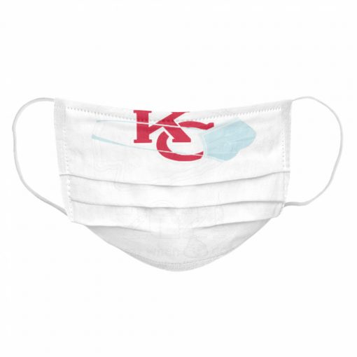 Kansas City Chiefs face mask 2021 toilet paper the year when got real quanrantined  Cloth Face Mask