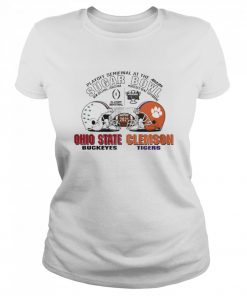 Playoff Semifinal at the Allstate Sugar Bowl 2021 Ohio State Buckeyes vs Clemson Tigers  Classic Women's T-shirt