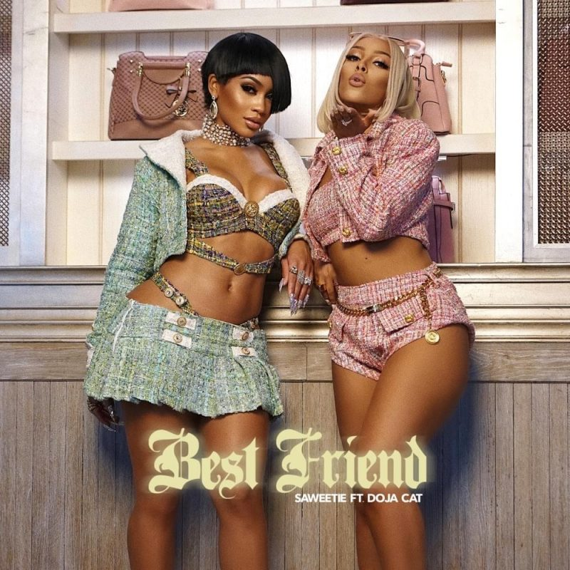 "Saweetie & Doja Cat Unite For ""Best Friend"""