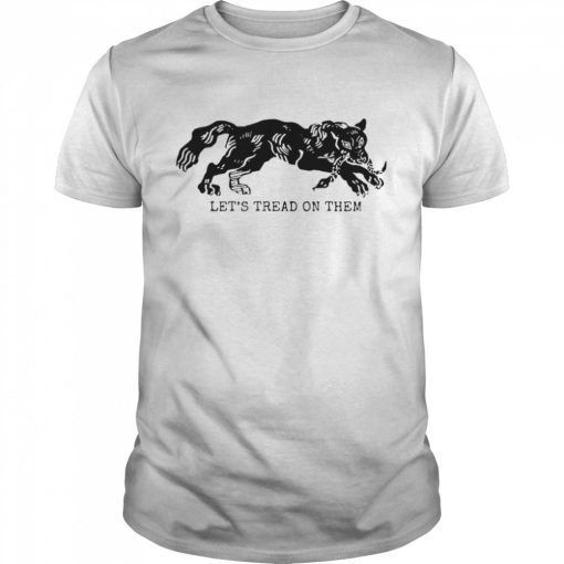 Tiger Let's Tread On Them  Classic Men's T-shirt