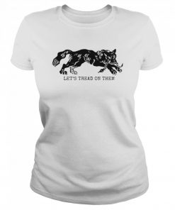 Tiger Let's Tread On Them  Classic Women's T-shirt