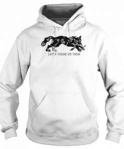 Tiger Let's Tread On Them  Unisex Hoodie