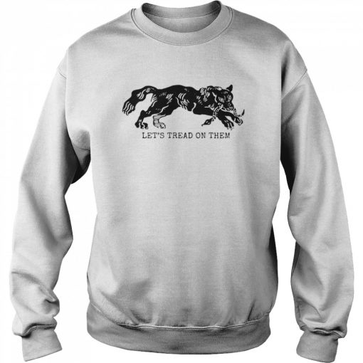 Tiger Let's Tread On Them  Unisex Sweatshirt